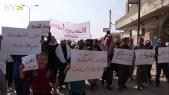 أهالي المنصورة يرفضون دخول النظام إلى محافظة الرقة (صور)