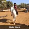 ابراهيم النهار.. شاب يعمل في مشروع جديد من نوعه لتنمية قدرات الأطفال الأيتام في الشمال السوري