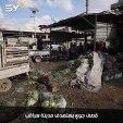مقتل مدني وإصابة 7 آخرين بجروح جراء غارات جوية شنها الطيران الحربي التابع للنظام السوري على مدينة سراقب في ريف إدلب