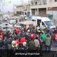 مقتل 15 مدنياً وإصابة العشرات بمجزرة مروعة ارتكبتها طائرات النظام الحربية في مدينة إدلب بعد استهداف عدة مناطق مأهولة بالسكان