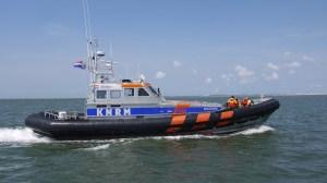 De reddingboot waarop Lasse meevoer