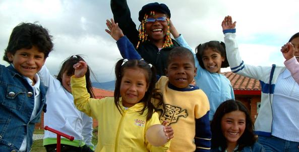 DIN støtte går direkte til disse barna