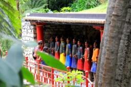 Terrakottasoldaten im Jardim Tropical