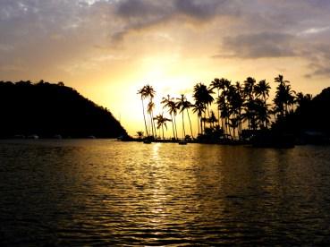 Der Klassiker: Marigot Bay Sunset