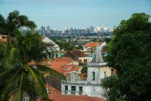 Beim Frühstück blicken wir auf Recife