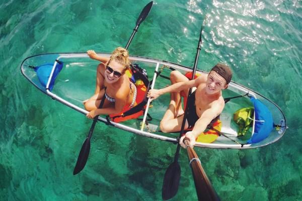 Kayaking Gili Trawangan