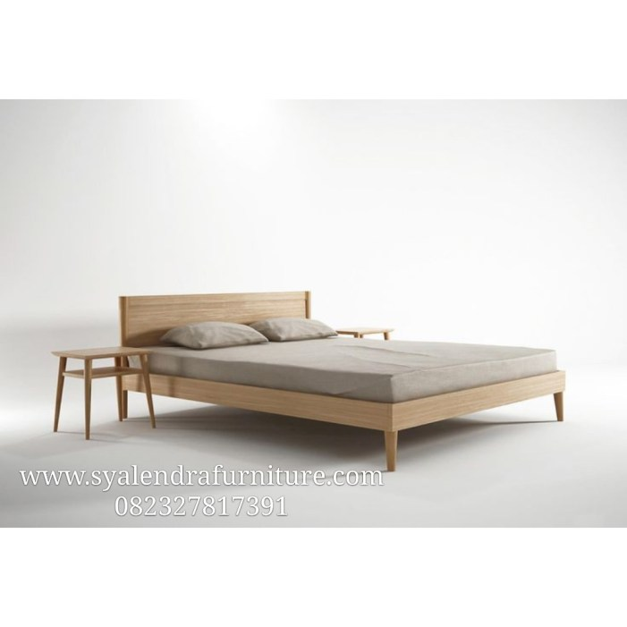 Tempat Tidur Minimalis Kaki Runcing
