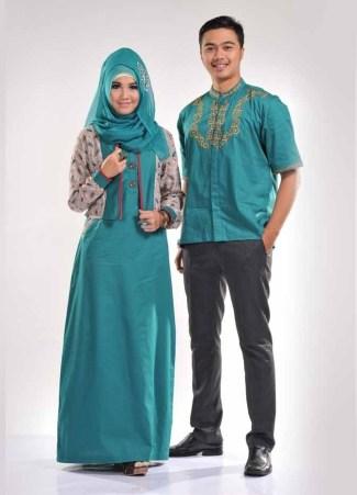 Model Gamis Batik Pesta Paling Modis Dan Digemari Tahun Ini