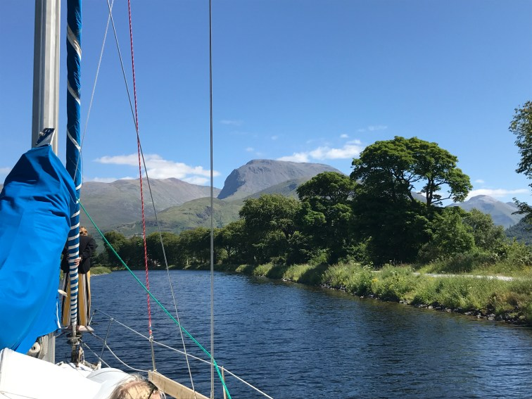 Ben Nevis mountain at the back