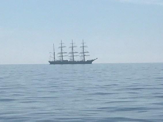 A big Russian Schooner heading for Esbjerg
