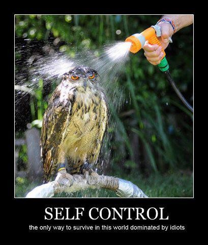 self-control and patience