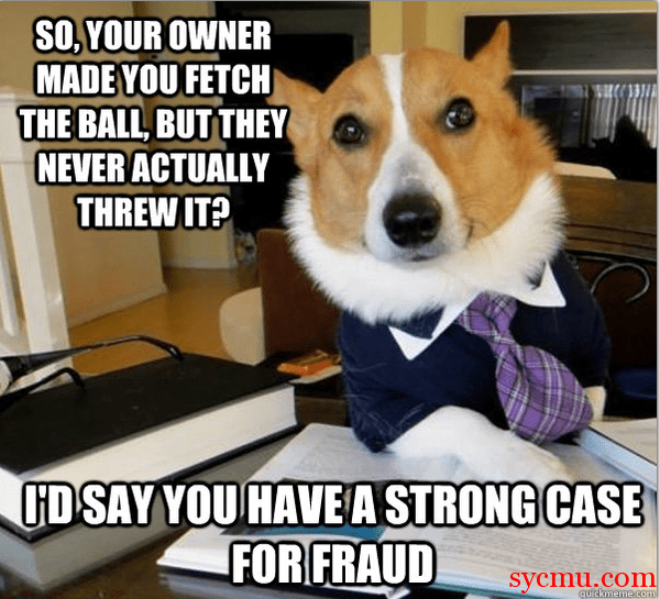 Dog dressed up like a lawyer