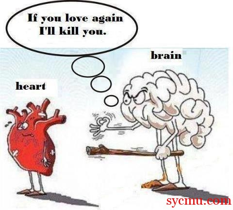 Brain and the heart