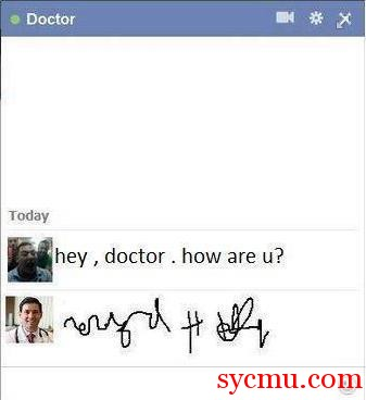 Doctors write ineligibly