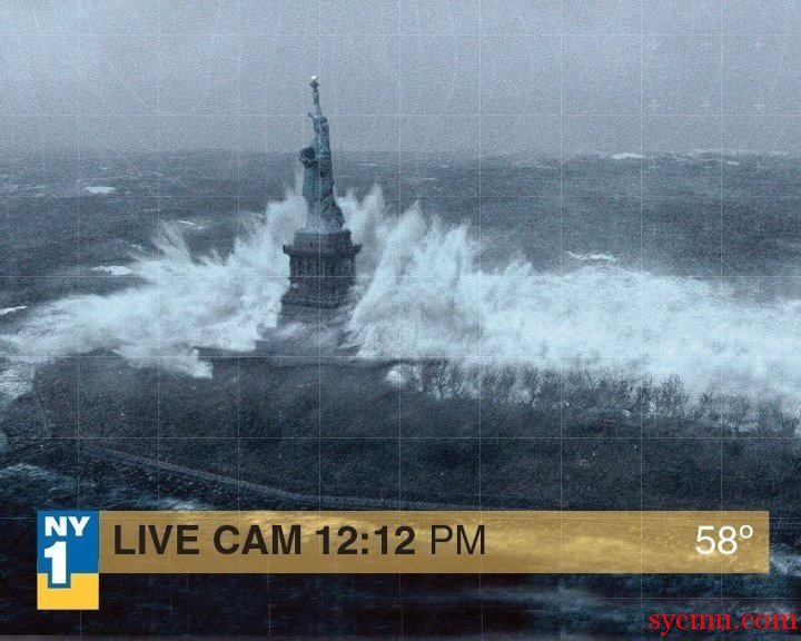 Picture from the day after tomorrow for hurricane sandy