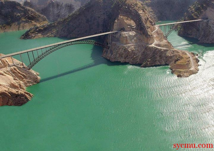 Bridge in Izeh, Khouzestan, Iran
