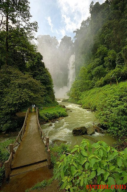 Dongon Falls  South Cotabato Philippines
