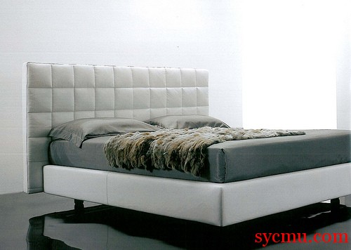 Beautiful White Queen Bed