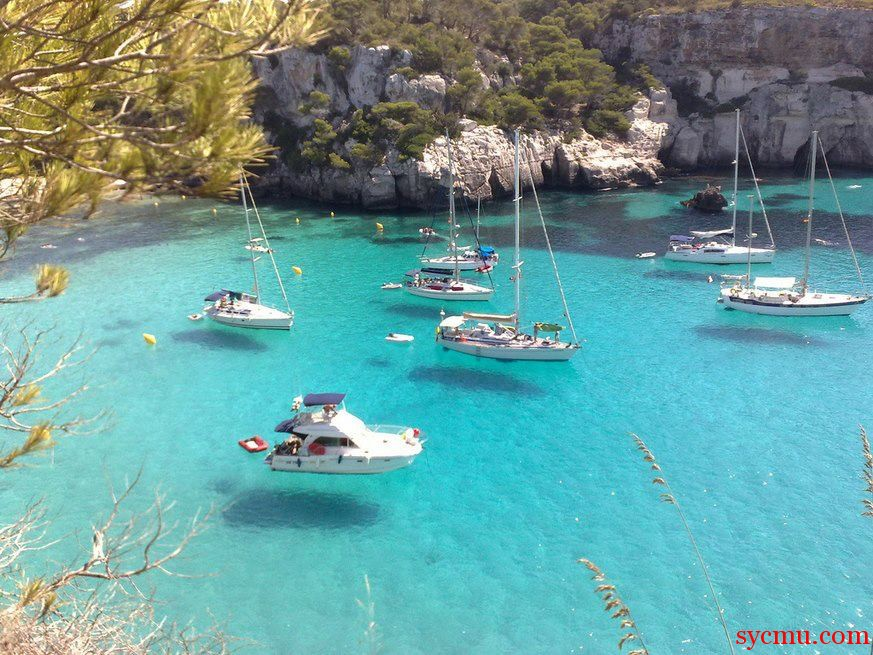 Cala Macarella South Shore of Menorca