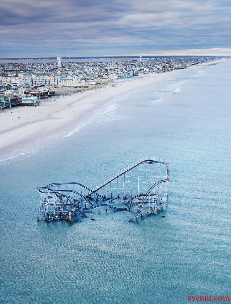 Roller Coaster After Hurricane Sandy