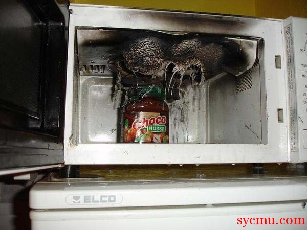 Cooking Fail microwave