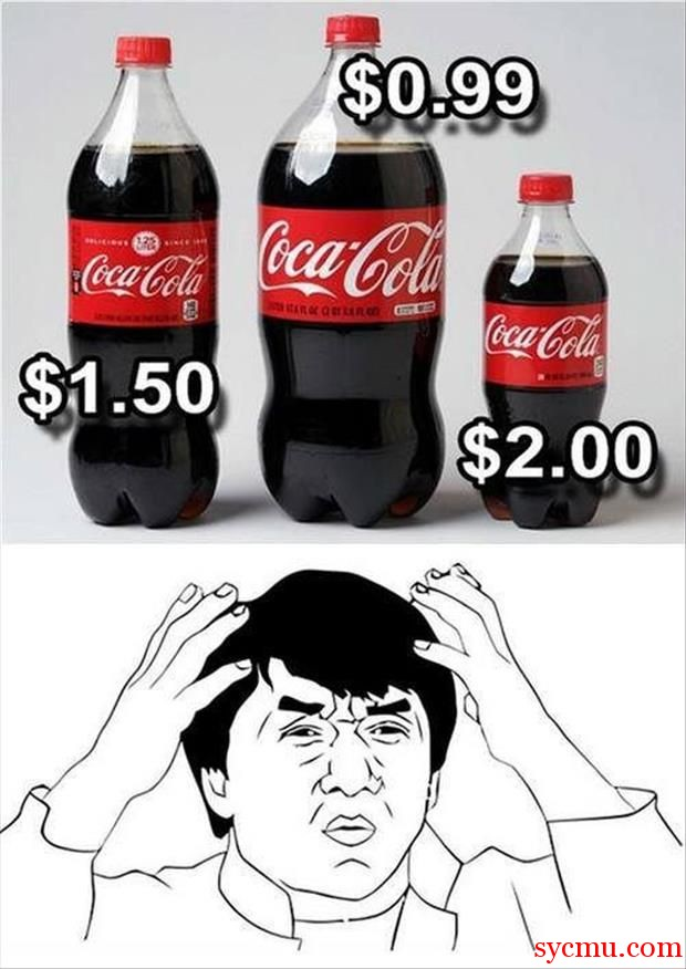 What's with Coca Cola'...