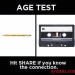Age test meme picture