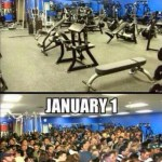 Gym on December 31st and January 1st