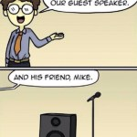 Best Puns Speaker and Mike