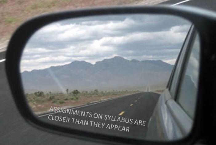 Assignments on Syllabus Car Mirror