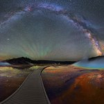 Milky Way Yellowstone