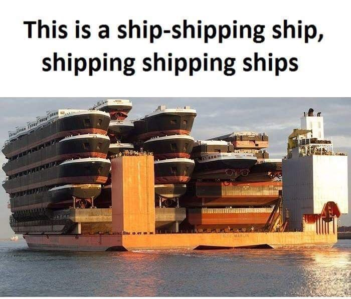 Shipping Ships with a ship