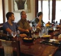 Sam Landers group dove hunting in Argentina