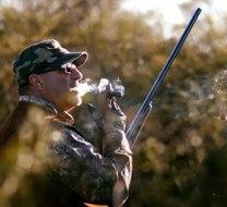 Pigeon hunt in Argentina