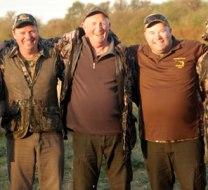 Australian hunters in Argentina