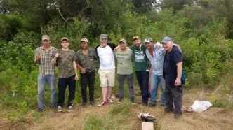 Dove hunting in Argentina