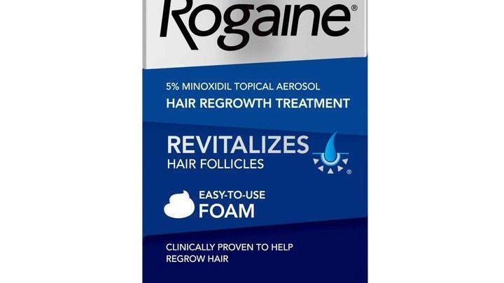 سعر ومواصفات سبراي Rogaine روجين لعلاج تساقط الشعر