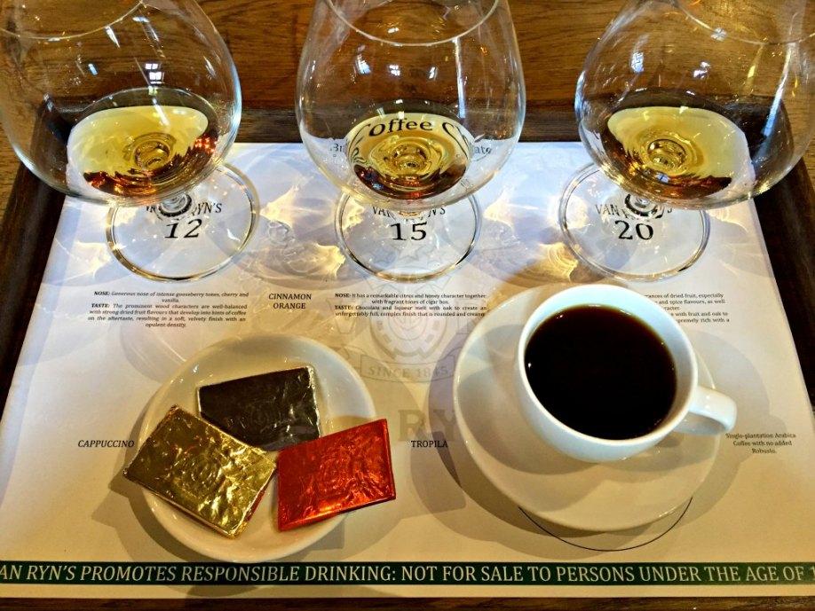 Van Ryns är en av Sydafrikas främsta brandy/Cognac producenter