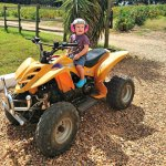 Wilmer på fyrhjulingen