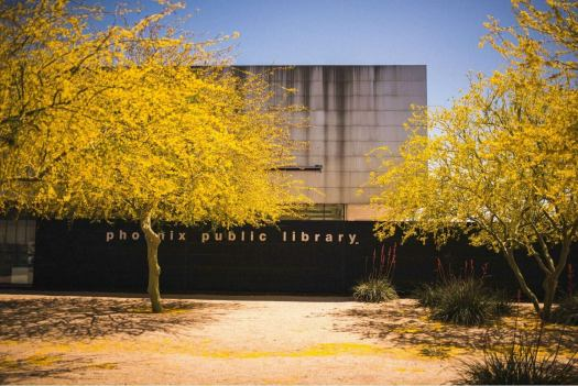 Harmon Library near Phoenix Airport