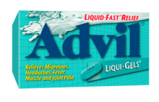 Advil® Liqui Gels® provide powerful relief of headaches, backaches, muscle aches, menstrual pain, minor arthritis and other joint pain, and aches & pains of the common cold.