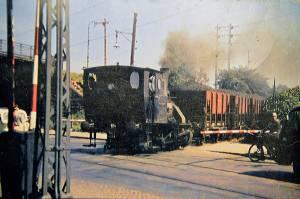 Overskæringen ved Enghavevej. Ca. 1959