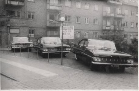 Taxipladsen ved Hapo/Mozartsvej