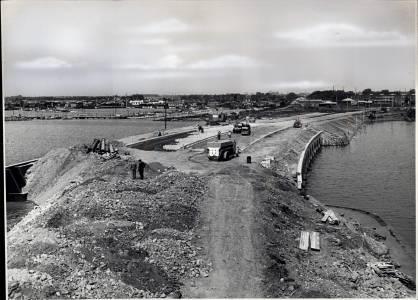 Sjællandsbroen Ca. 1957.