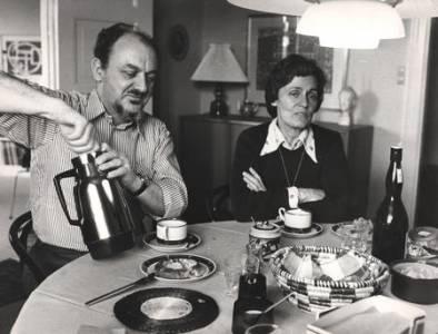 Ingrid og Anker Jørgensen i Sydhavnen