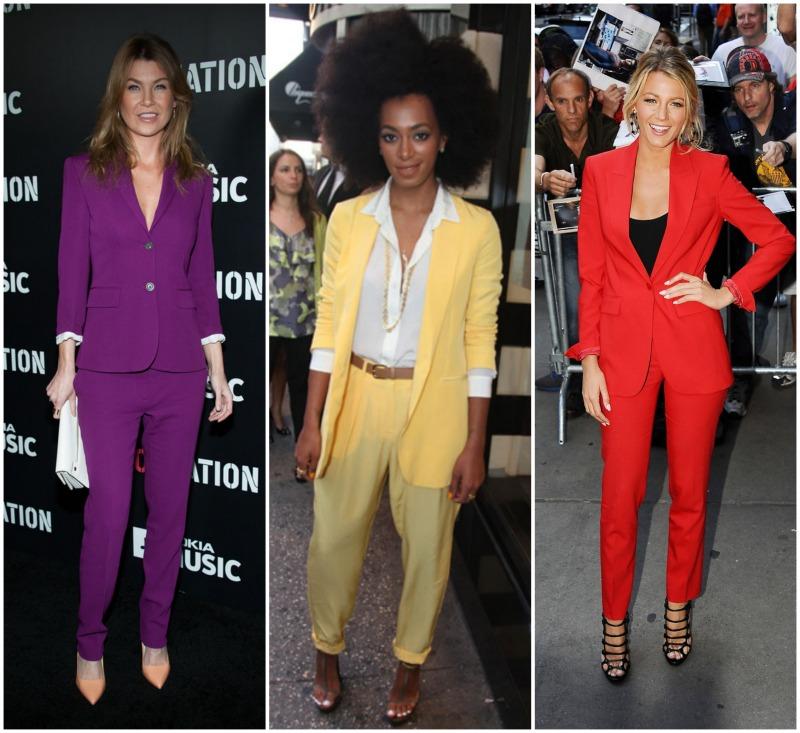 Staple Of The Week Bright Pant Suit Sydne Style Sydne Style