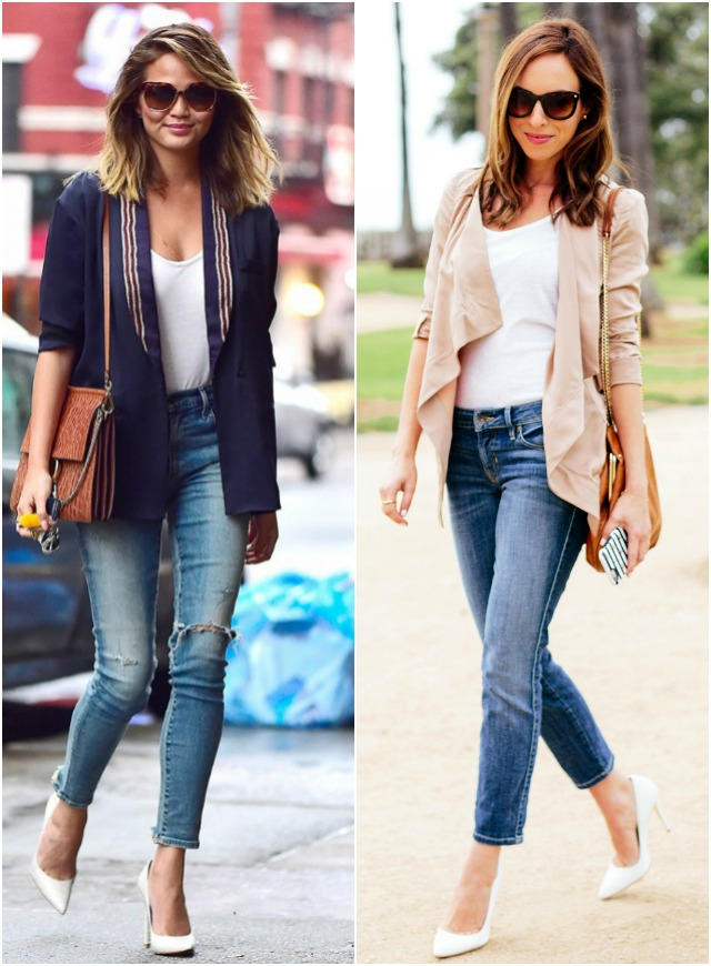 Celebrity Fashion for Denim Day | Chrissy Teigen's Jeans