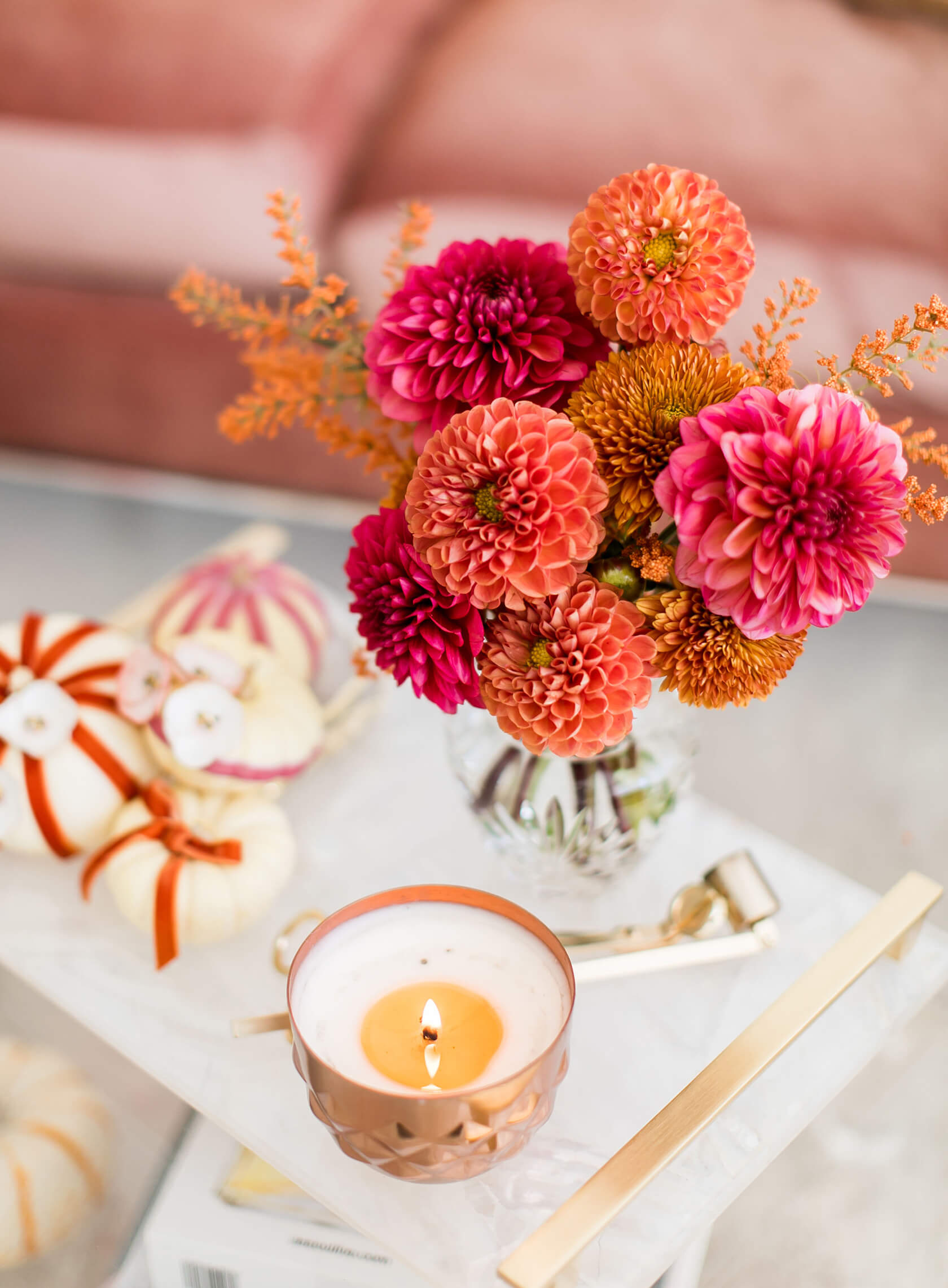 sydne style shows pretty fall floral