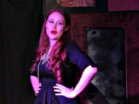 Kayla Stanton as abused wife Lara in Dominic Witcop's OUT OF FEAR