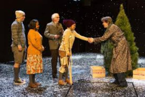 This is a very special Christmas Carol. Pics: Brett Boardman